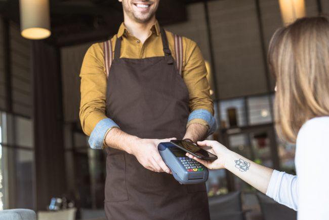 smartphone digital payment